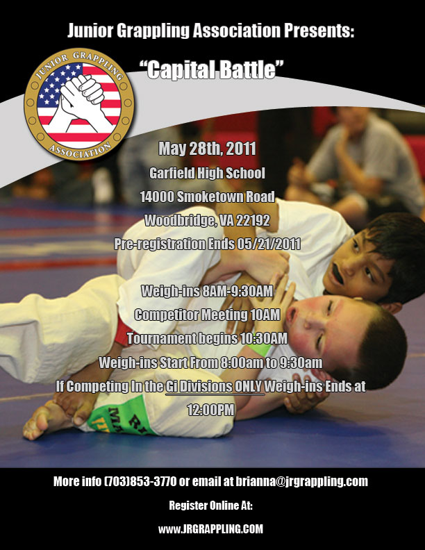 junior grappling association may 28