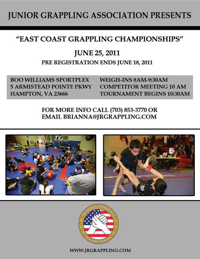 jga east coat grappling championships